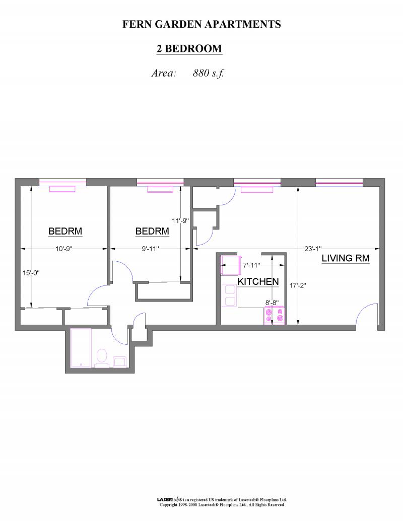 fern gardens apartments floor plans pricing